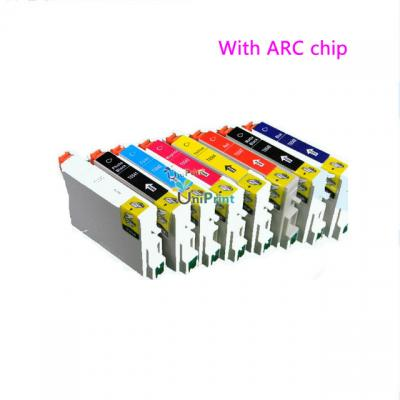 Ink Cartridge for EPSON R800 R1800 PRINTER with chip full ink T0540 T0...