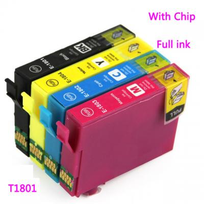 T1801 T1802 T1803 T1804 with chip compatible Ink inkjet cartridges for...