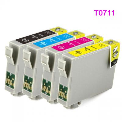 T0891 compatible ink cartridge for epson T0711 - T0714 for D78 D92 D12...