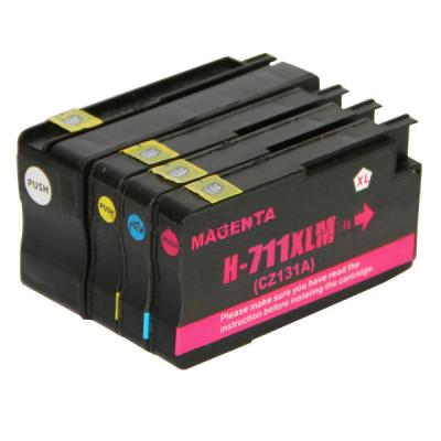 Compatible ink cartridges for HP711 for HP 711 Designjet T120 T520 pri...