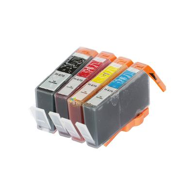 Compatible ink cartridge for hp 670 XL for HP deskjet 3525 4615 4625 5...