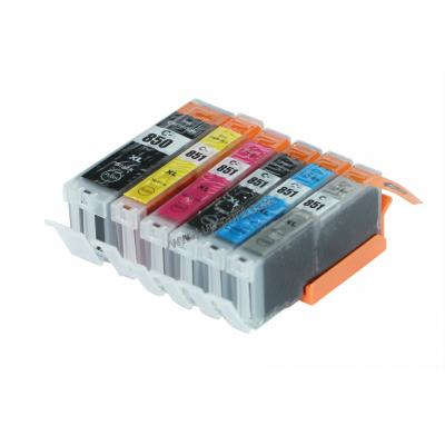 Compatible canon PGI-850 / CLI-851 inkjet ink cartridges with chip