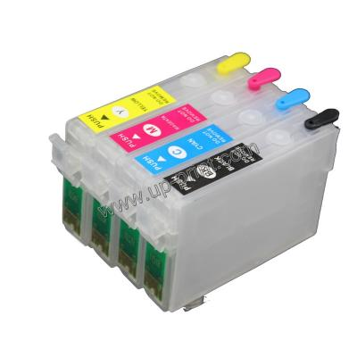T0711 Refillable Ink Cartridge for Epson Office STYLUS OFFICE B40W, BX...