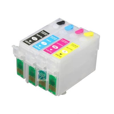 T1351-T1334 refillable ink cartridge for Epson Stylus T25 TX123 TX125 ...