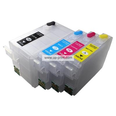 T2521 T252XL Refillable Ink Cartridges for EPSON WorkForce WF-3620 WF-...