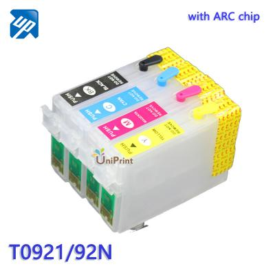 T0921N 92N Refillable Ink Cartridges  for Epson STYLUS C91/CX4300/T26/...