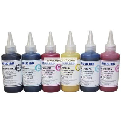 6 x 100ml printer ink sublimation ink used for epson R270/R390/RX590/R...