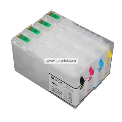 T7891-T7894 Refillable Ink Cartridges  for EPSON Pro WF-5510DW 5190DW ...