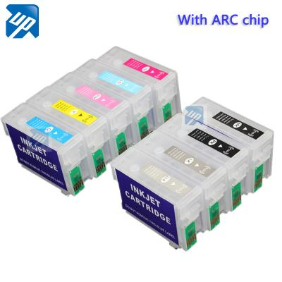 T7601-T7609 refillable ink cartridges for Epson P600 with ARC chips