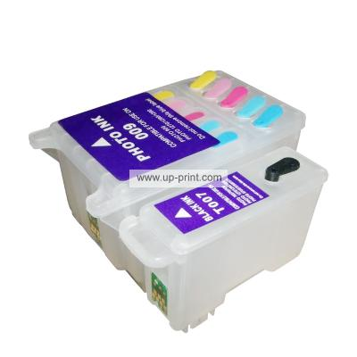 T007 T009 compatible Refillable ink cartridges for Epson Stylus  Photo...