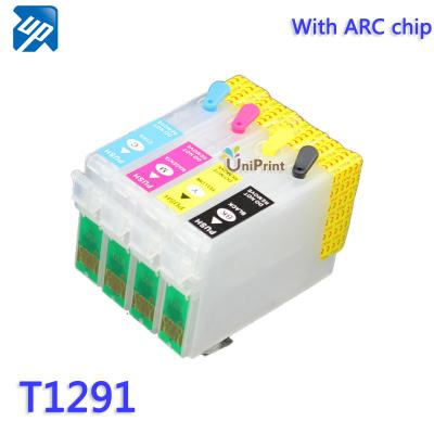 T1291-T1294 Refillable ink cartridges for Epson SX525WD SX620FW BX525W...