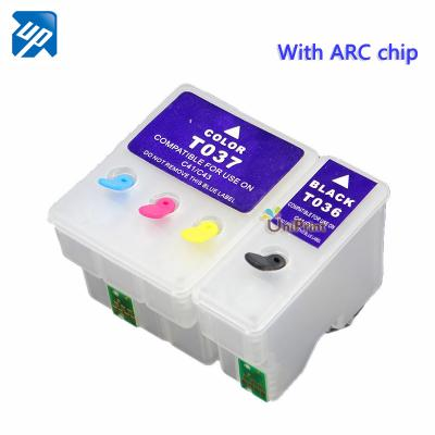 T036 T037 Refillable ink cartridges for Epson C42/C44/C46 printer with...