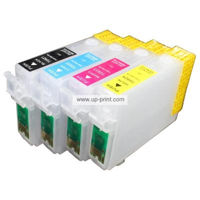 NEW empty Refillable ink cartridges for Epson WF-2010W 2540wf 2510WF 2...