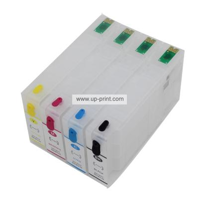 676 XL T676XL1 T6761 refillable ink cartridge For EPSON Workforce pro ...