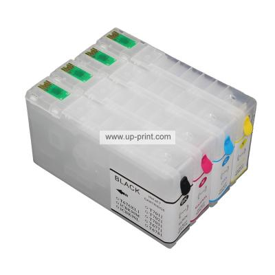 T676XL1 -T676XL4 refillable ink cartridge For EPSON Workforce pro WP-4...
