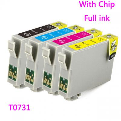 ink cartridge for EPSON 73N T0731N TX100 TX110 TX200 TX210 TX400 TX410...