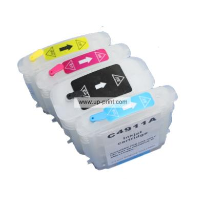 HP 10 HP 11(C4844A C4836A C4837A C4838A) Refillable Ink cartridges for...