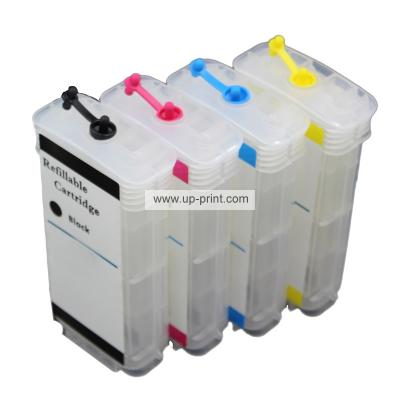 HP82 BK/C/M/Y(CH565A 4911A 4912A 4913A) Refillable Ink Cartridges for ...