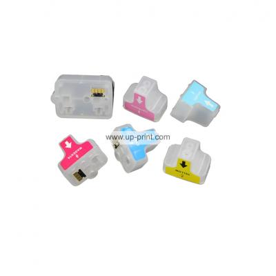 HP02 Refillable Ink Cartridges for HP Photosmart 8250 3110 3210 3310 3...