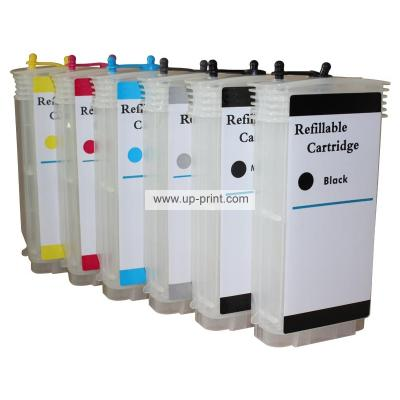 HP72 130ml Refillable Ink Cartridges for HP Designjet T610 T1120 T1200...