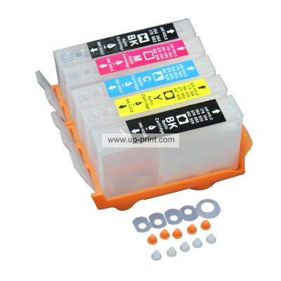 HP178 178 XL Refillable Ink Cartridges for HP 7510 C5380 C6380 D5460 C...