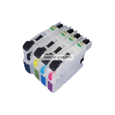 Refillable Ink Cartridges for Brother LC123 LC127 LC121 LC129 with new...