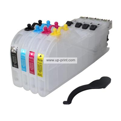 LC103 LC105 LC107 Long Type Refillable Ink Cartridges for Brother MFC-...