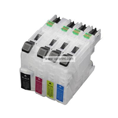 LC563 LC565 LC567 Refillable Ink Cartridges for Brother MFC-J2310 J251...