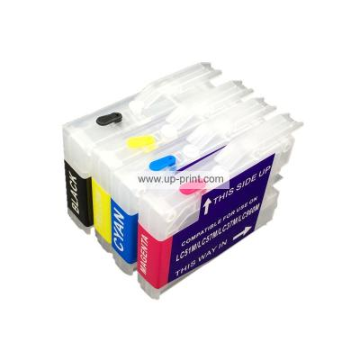 LC37 LC960 LC1000 Refillable Ink Cartridges for Brother MFC240CN/440CN...