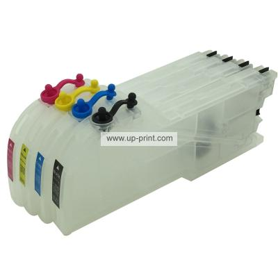 lc39 lc38 lc985 LC61 LC65 Refillable Ink Cartridges for Brother DCP535...