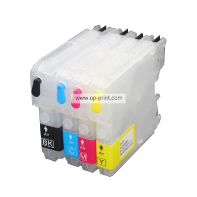 LC39 LC985 LC60 LC975 Refillable Ink Cartridges for Brothe MFC J415W J...
