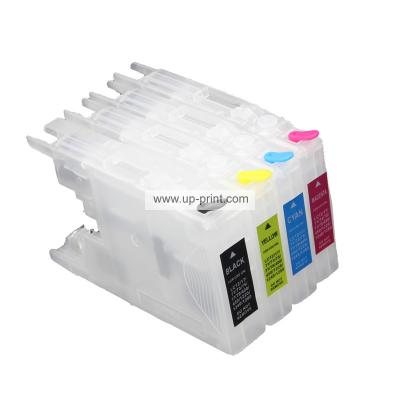 LC1280 LC73 LC75 Refillable Ink Cartridges for Brother A3  MFC-J6510DW...