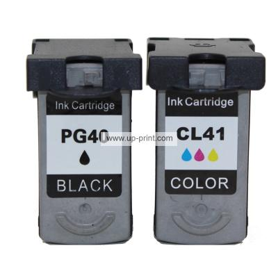 PG-40 CL-41  Remanufactured Ink Cartridges for Canon PIXMA iP1180 PIXM...